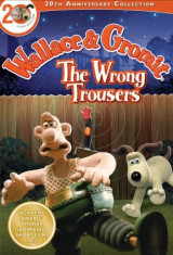 Wallace and Gromit in The Wrong Trousers