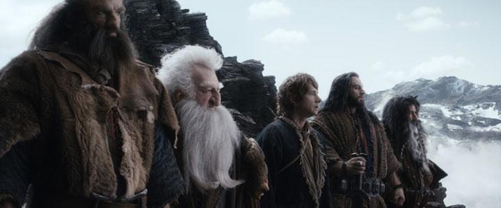 Bilbo and company unsurprisingly take the top spot